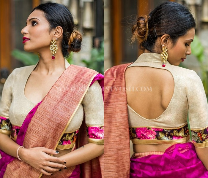 Blouse Designs For Silk Sarees Top 21 Pattu Blouses!