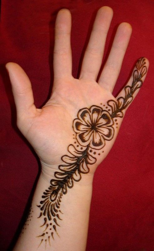 Henna flower designs meanings