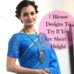 11 must try designer blouses for net sarees � keep me stylish