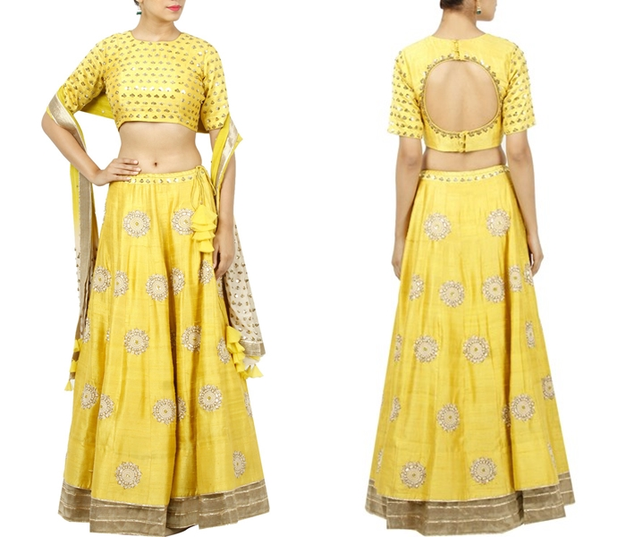 25 Lehenga Blouse Back Designs For Nailing Your Ethnic Look Keep Me Stylish