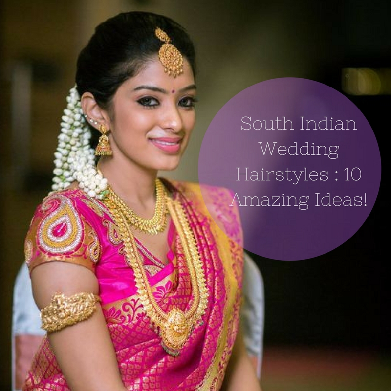 Wedding Hairstyles Indian: South Indian Wedding Hairstyles: 13 Amazing Ideas! • Keep