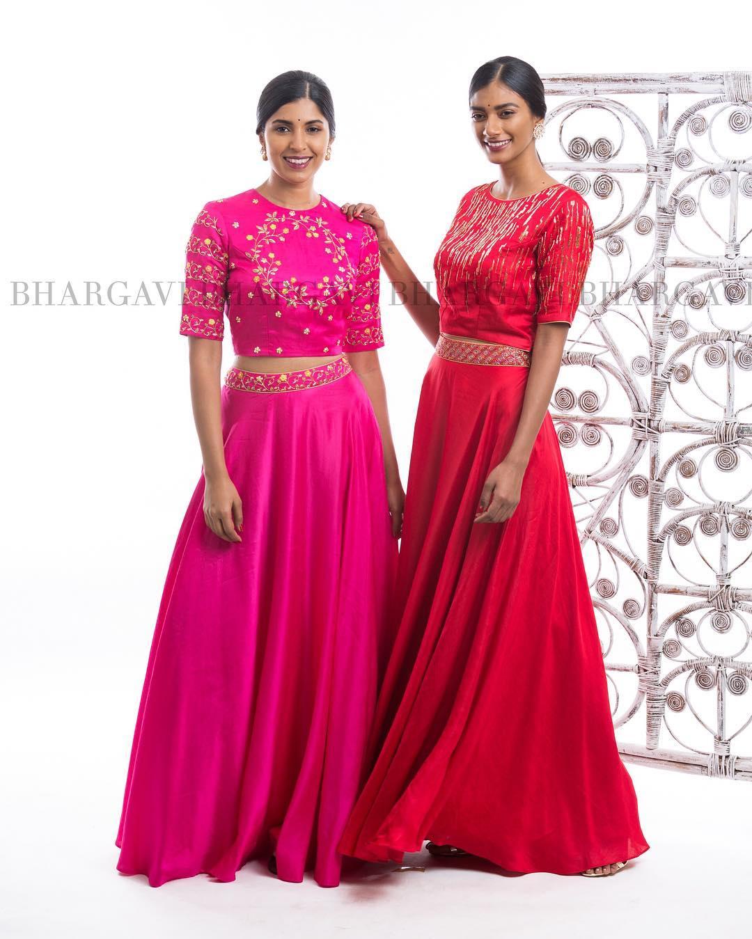 Bhargavi Kunam Lehenga Designs 2017