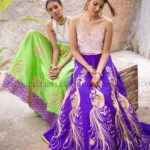 Vibrant Lehengas From Bhargavi Kunam's Latest Collection
