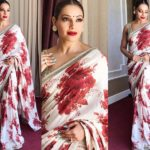 Bipasha Basu Nailed the Perfect Floral Saree!