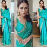 Aditi Rao Shows Us How To Look Simple on Silk Saree