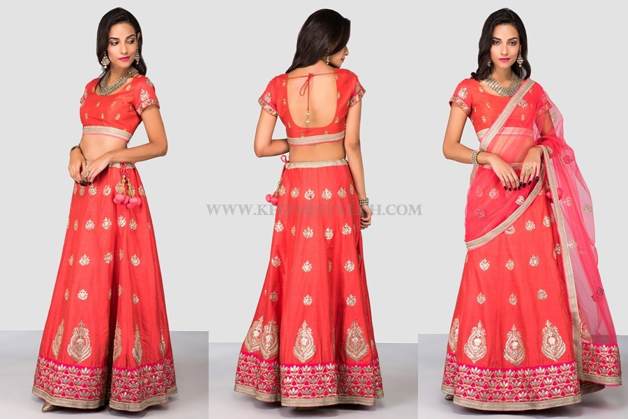 Lehenga Designs For Engagement Function