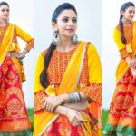 How To Make Your Half Saree Style Look Modern & Fun?