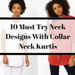 10 Must Try Neck Designs For Kurtis With Collar