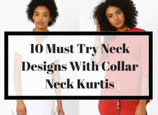 Neck Designs For Kurtis With Collar