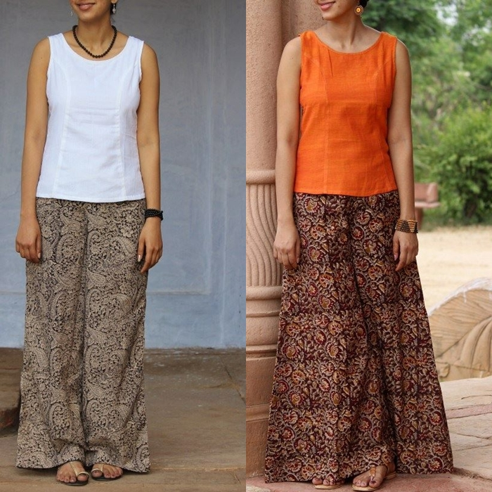 What to Wear With Indian Style Palazzo Pants