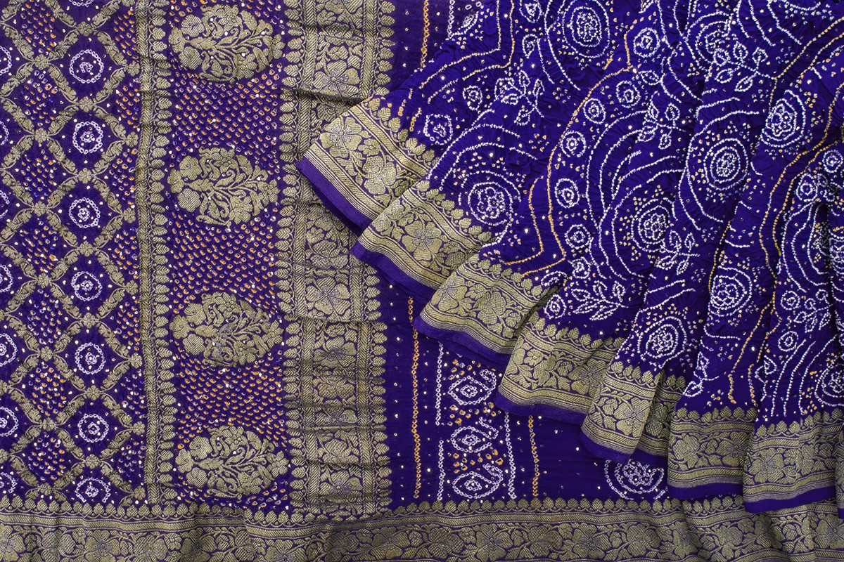 Bandhani Saree Design