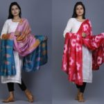 Dye Dupatta Designs for Plain Salwar Suits