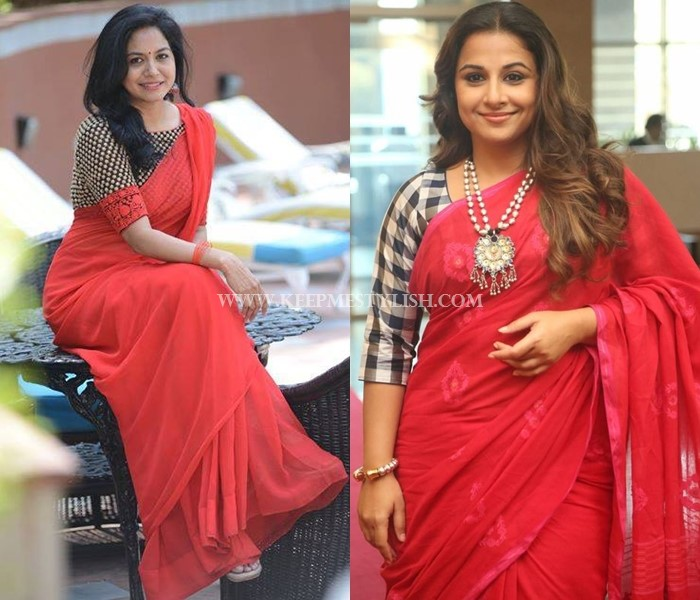 4c320388a9 These 7 Blouse Designs Will Glam-up Your Red Saree Style • Keep Me ...