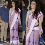 Mini Mathur Repeats This Cotton Saree Style in Loop!