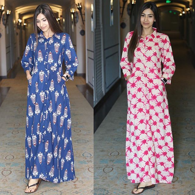 Fashionable Kurthas and Maxi Dress