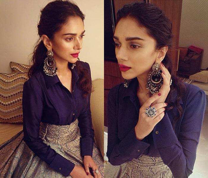 Indian Silver Earrings Trend