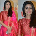 Sneha Shows How to Dress Up in Pretty Pink Anarkali