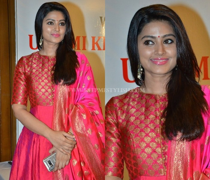 Sneha Shows How To Dress Up In Pretty Pink Anarkali Keep Me Stylish