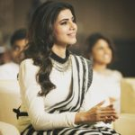 Samantha Gives Saree Style a Stylish Twist!