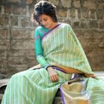 Tapsee Inspires Us to Wear Silk Sarees with Full Sleeve Blouse