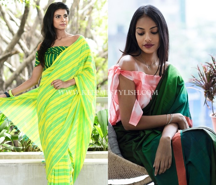 Stylish Blouse Designs For Sarees