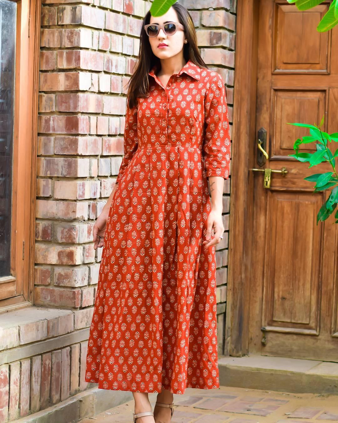 Summer Cotton Maxi Dress Designs