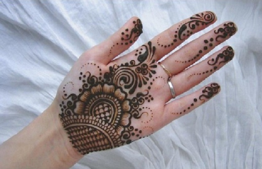 Mehndi Hands Designs : 30 easy arabic mehendi designs for left hand u2022 keep me stylish