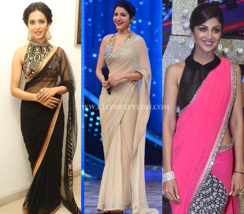 haler neck saree blouse pattern