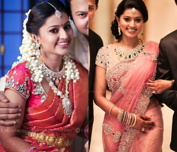 Sneha Wedding Hairstyle: 5 Reasons Why Sneha Saree Style Is Always Appealing • Keep
