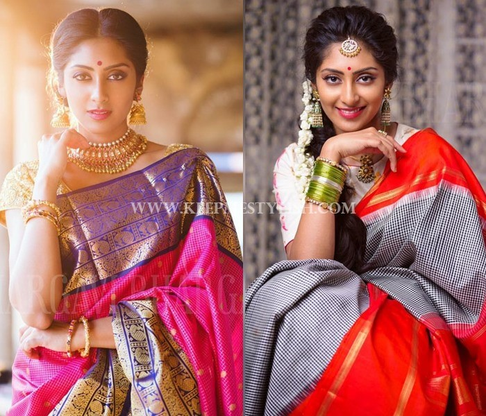 Bhargavi Kunnam Silk Saree Designs