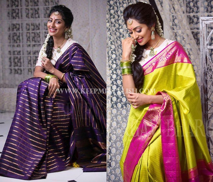 Bhargavi Kunnam Bridal Saree Designs