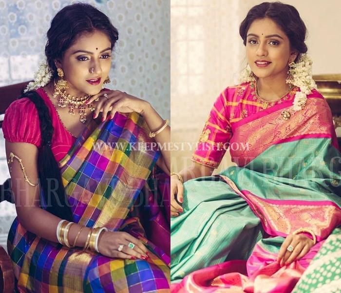 Bhargavi Kunnam Bridal Silk Saree Collections