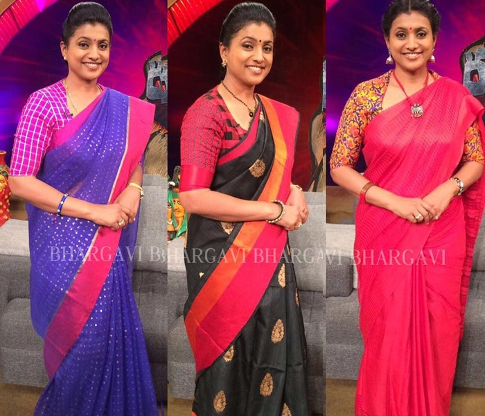 Bhargavi Kunnam Designer Saree Collections