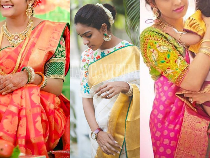 Bhargavi Kunnam Latest Blouse Designs