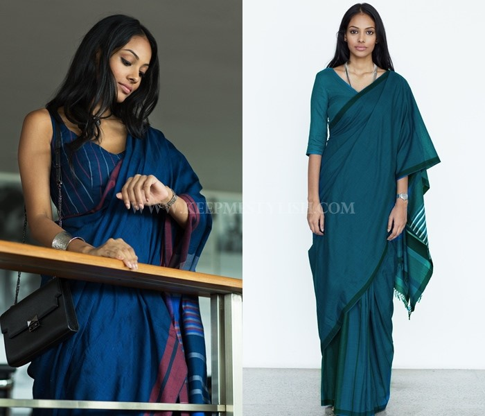 Formal Office Wear Saree Style