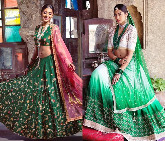 Latest Bhargavi Kunnam Lehenga Collections