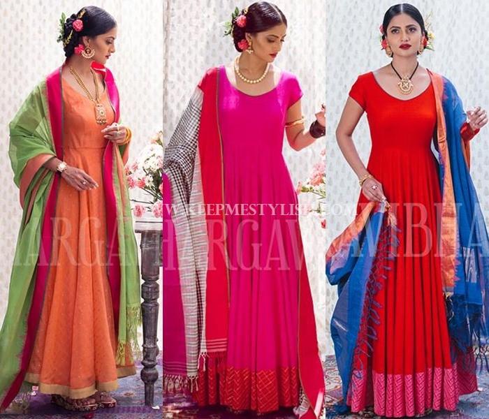 Bhargavi Kunnam Anarkali Designs