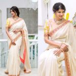The Ultimate Way to Wear a Plain Saree with Floral Blouse
