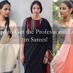 6 Tips to Look Stylish in Formal Office Wear Sarees