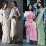 Up Your Saree Style – 15 Indo Western Saree and Blouse Ideas