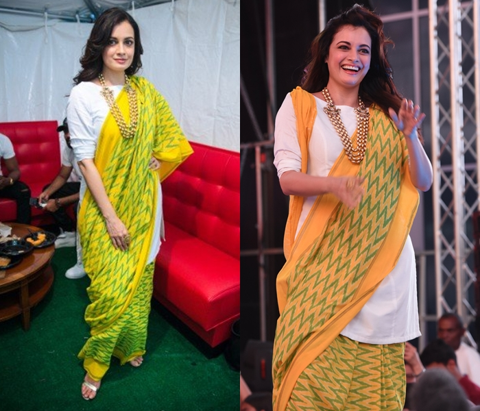 Kurtha as saree blouse