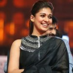 Nayanthara Shows a Stylish Way to Drape a Plain Black Saree