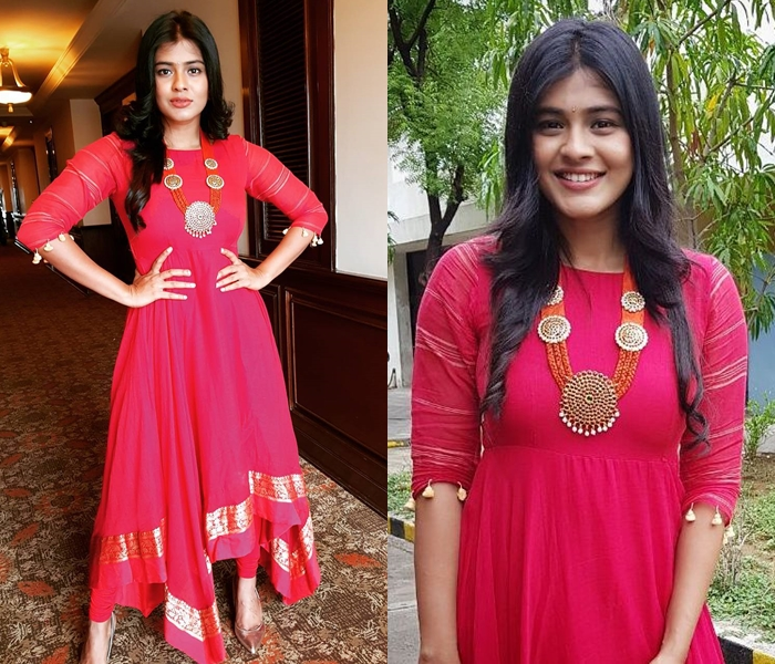 Red Silk Anarkali Styling Tips