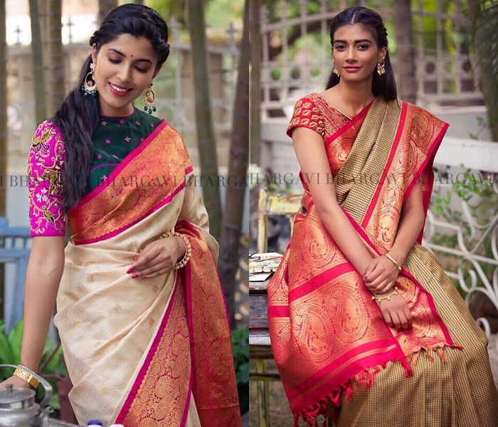 Top 15 Saree Jacket Designs And Patterns Of All Time! U2022 Keep Me Stylish