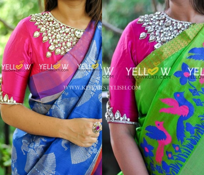 Traditional Blouse Designs Images