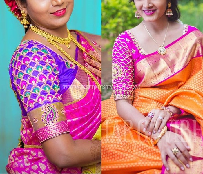 Traditional Blouse Designs For Wedding