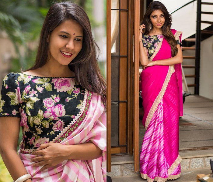 08dcdd98dd584 5 Ideas to Perk Up Pink Saree Blouse Designs • Keep Me Stylish