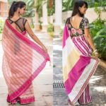5 Ideas to Perk Up Pink Saree Blouse Designs