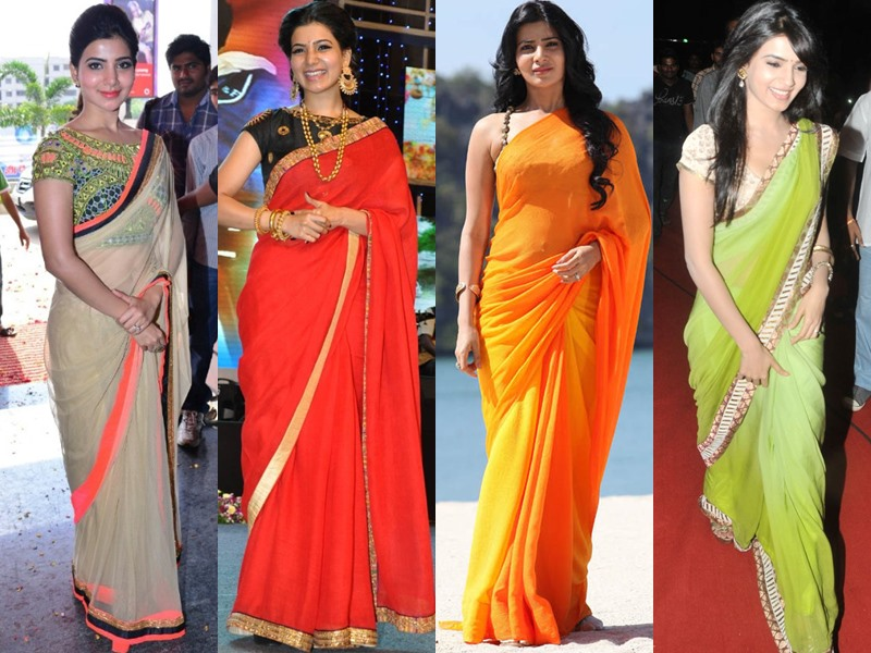 9a4e143138a5ac Samantha Saree Style: 35 Fabulous Sarees Flaunted by Samantha ...