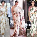Why You Should Own A Floral Saree Right Now?